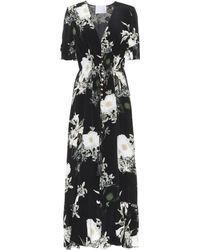 Athena Procopiou - In The Still Of The Night Silk Dress - Lyst