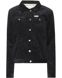 Calvin Klein - Cotton Corduroy Jacket - Lyst
