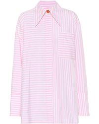 Marni - Striped Cotton Shirt - Lyst