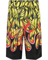 Prada - Shorts estampados - Lyst