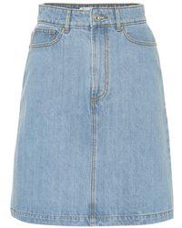 Être Cécile - Gonna di jeans - Lyst