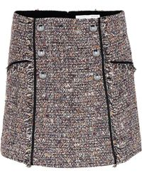 Veronica Beard - Starck Tweed Miniskirt - Lyst