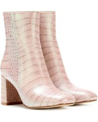 Maryam Nassir Zadeh - Exclusive To Mytheresa. Com – Agnes Leather Ankle Boots - Lyst