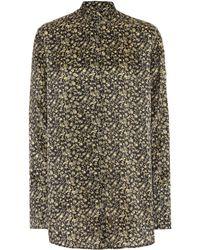 Victoria, Victoria Beckham - Printed Shirt - Lyst