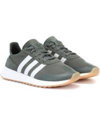 25e5314e5f1 Lyst - Adidas Originals Black Flashback Sneakers in Black