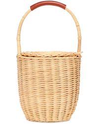 A.P.C. - Jeanne Wicker Bucket Bag - Lyst