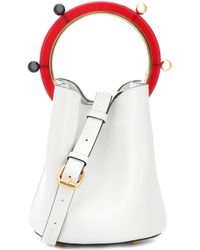 Marni - Leather Tote - Lyst