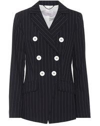 Dorothee Schumacher - Classic Striped Wool Blazer - Lyst