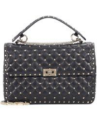 Valentino - Garavani Free Rockstud Spike Large Leather Shoulder Bag - Lyst