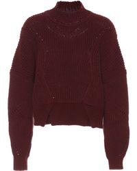 Isabel Marant - Lane Cotton And Wool Sweater - Lyst