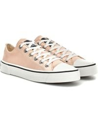 Marc Jacobs - Grunge Satin Trainers - Lyst