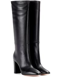 Gianvito Rossi - Laura 85 Leather Boots - Lyst