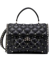 Valentino - Candystud Large Shoulder Bag - Lyst