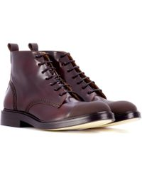 JOSEPH - Glossed-leather Ankle Boots - Lyst