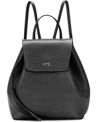 N°21 - Leather Backpack - Lyst