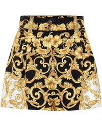 Versace - Printed Shorts - Lyst