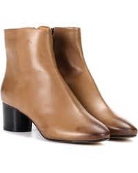 Isabel Marant - Danay Leather Ankle Boots - Lyst