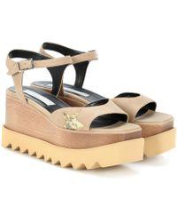 Stella McCartney - Elyse Platform Sandals - Lyst