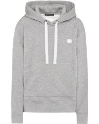Acne Studios - Ferris Face Oversized Cotton Hoodie - Lyst