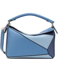 Loewe - Puzzle Leather Shoulder Bag - Lyst