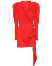 Magda Butrym - Carlton Silk Minidress - Lyst