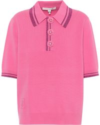 Marc Jacobs - Embellished Polo Shirt - Lyst