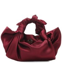 The Row - Borsa Ascot Small in raso - Lyst