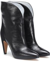 Givenchy - Stivaletti in pelle e suede - Lyst