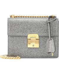 Mark Cross - Zelda Glittered Shoulder Bag - Lyst