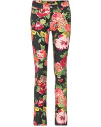Junya Watanabe - Floral-printed Cotton Pants - Lyst