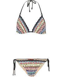 Missoni - Crochet Halterneck Bikini - Lyst