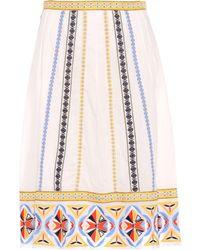 Tory Burch - Knee Length Skirt - Lyst