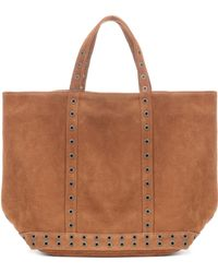 Vanessa Bruno - Cabas Medium Suede Shopper - Lyst