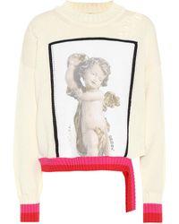 Golden Goose Deluxe Brand - Intarsia Cotton Sweater - Lyst