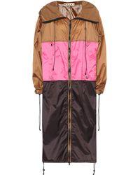 Marni - Colorblocked Raincoat - Lyst