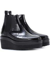 Pierre Hardy - Ankle Boots aus Leder - Lyst