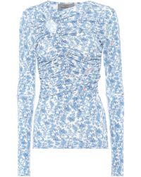 Preen By Thornton Bregazzi - Floral-printed Top - Lyst