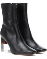 Neous - Hea Leather Ankle Boots - Lyst