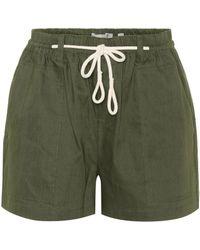 Vince - Linen-blend Shorts - Lyst
