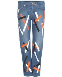 Christopher Kane - Jeans cropped con decorazione - Lyst