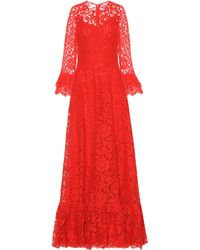Valentino - Lace Gown - Lyst