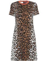 Stella McCartney - Knitted Wool-blend Dress - Lyst