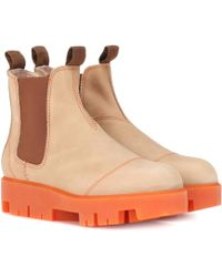 Acne Studios - Tillay Leather Ankle Boots - Lyst