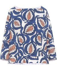 Marni - Printed Cotton Top - Lyst