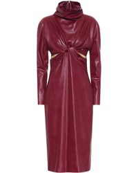 Stella McCartney - Willow Faux Leather Dress - Lyst