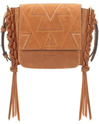 Isabel Marant - Kleny Suede Shoulder Bag - Lyst