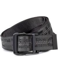 aspetto dettagliato d06d0 14c5f Cintura Industrial in tessuto tecnico - Nero