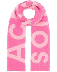 Acne Studios - Exclusive To Mytheresa – Toronty Logo Wool-blend Scarf - Lyst
