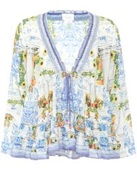 Camilla - Printed Blouse - Lyst