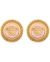 Versace - Medusa Stud Earrings - Lyst